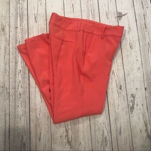 Justfab coral career pants size small tapered
